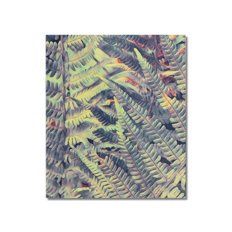 ferns flora art Home Mounted Acrylic Print by jbjart Artist Shop