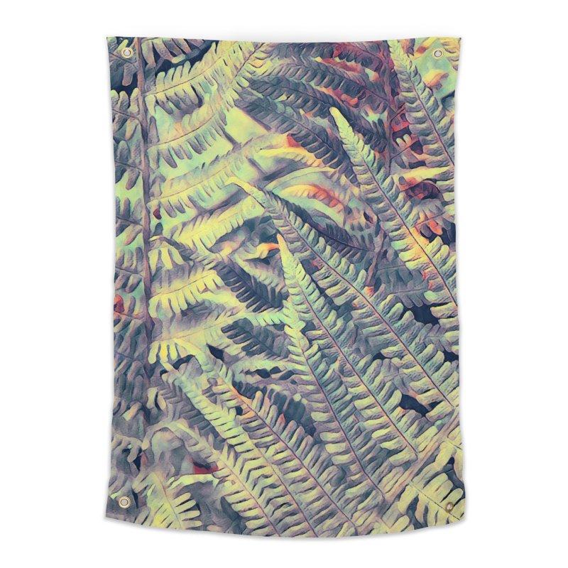 ferns flora art Home Tapestry by jbjart Artist Shop