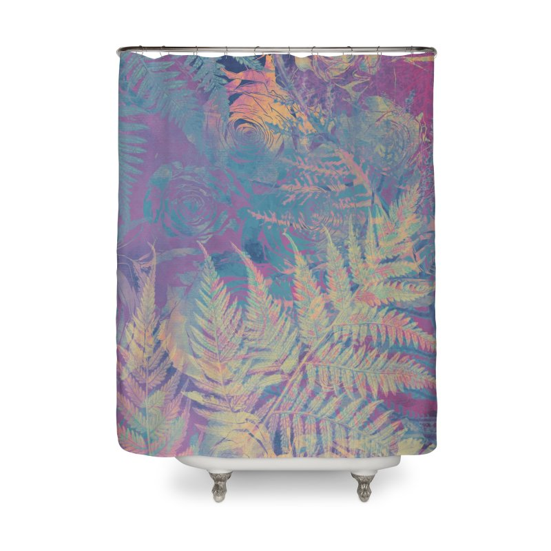 Roses Home Shower Curtain by jbjart Artist Shop