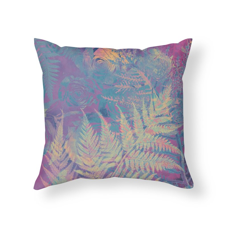 Roses Home Throw Pillow by jbjart Artist Shop