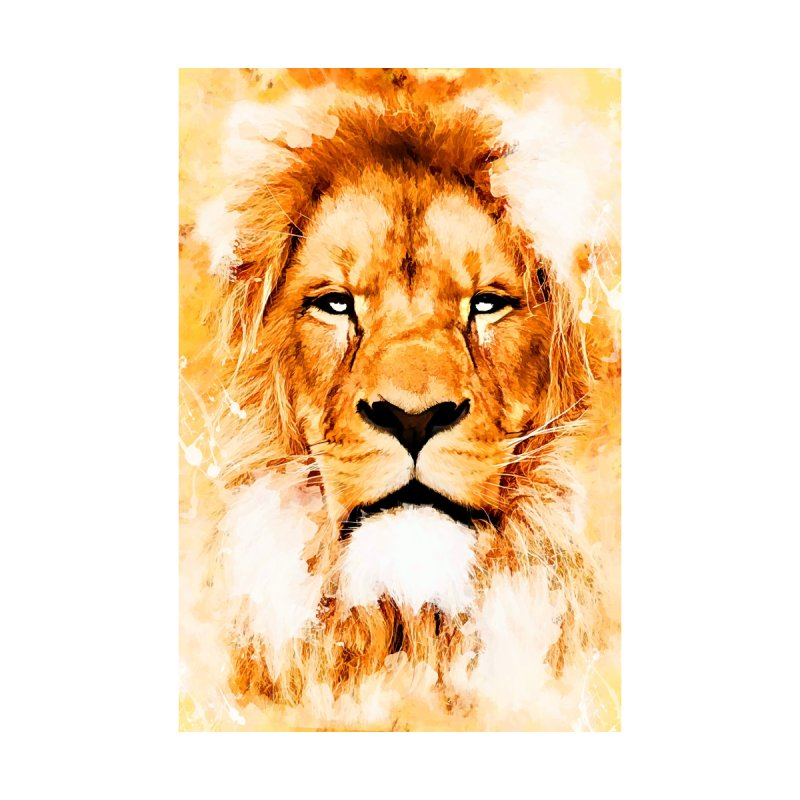 Lion art Home Throw Pillow by jbjart Artist Shop