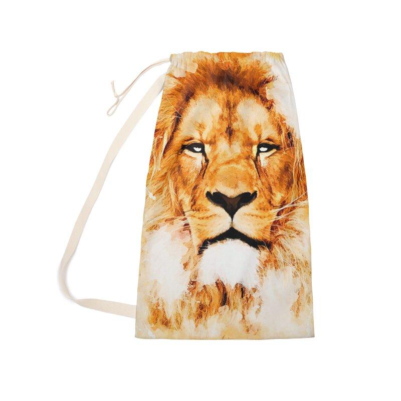 Lion art Accessories Bag by jbjart Artist Shop
