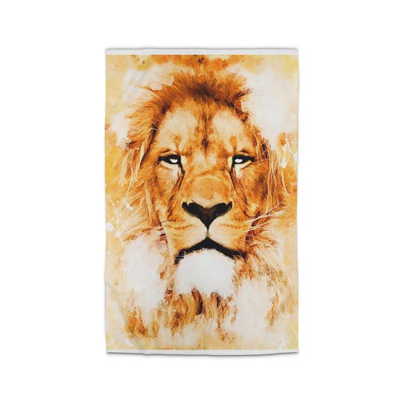 Lion art Home Rug by jbjart Artist Shop