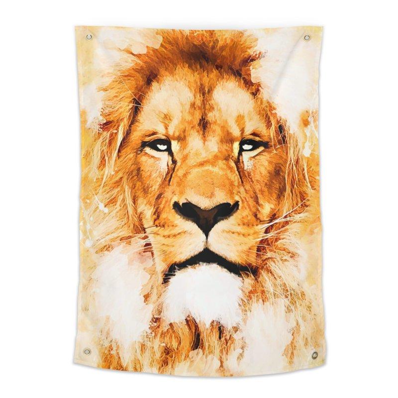 Lion art Home Tapestry by jbjart Artist Shop
