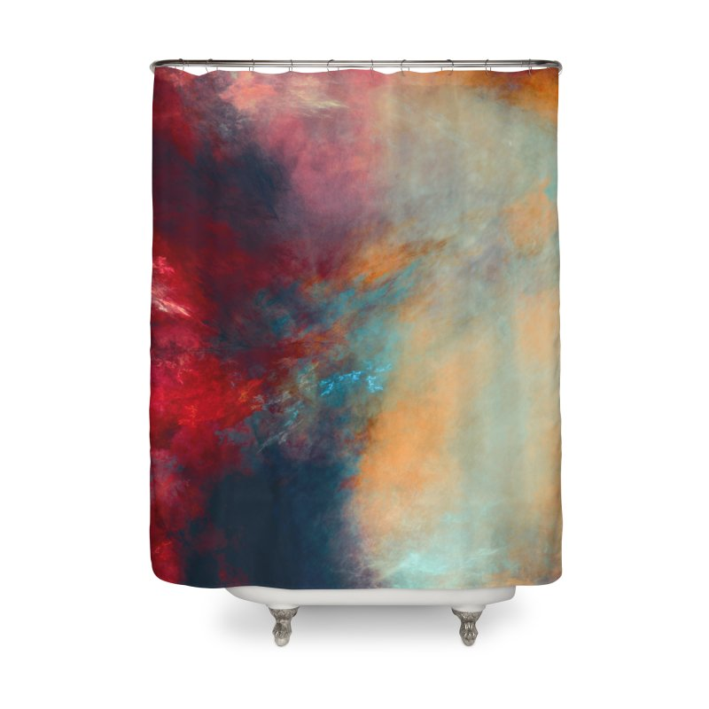 Journey art Home Shower Curtain by jbjart Artist Shop