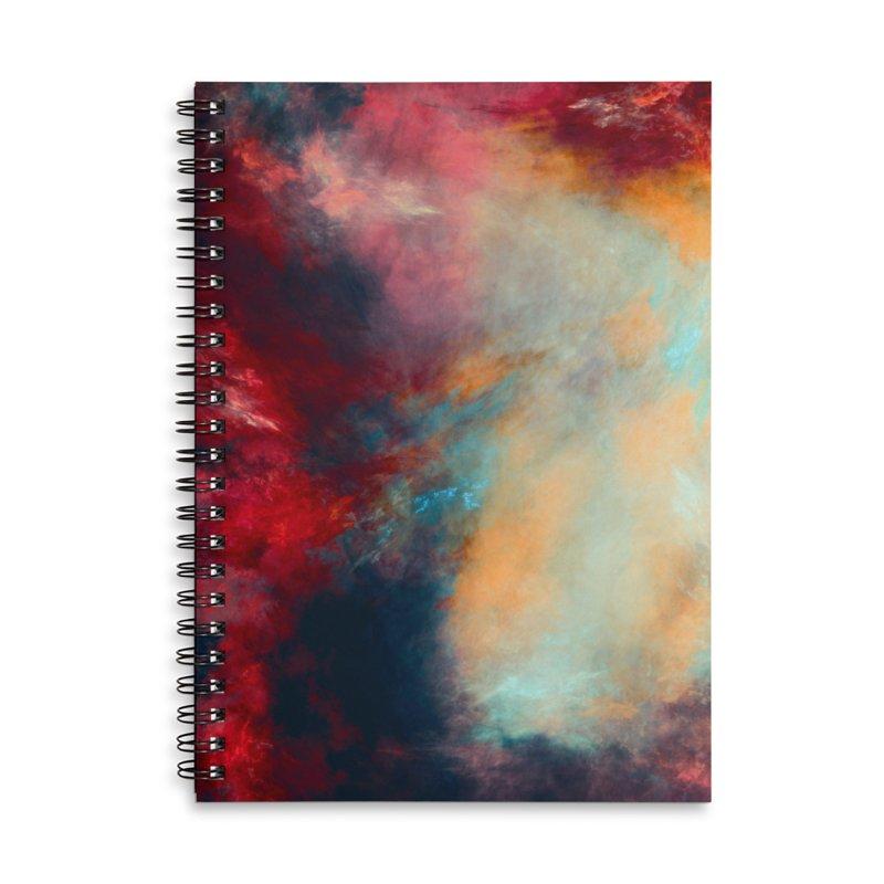 Journey art Accessories Lined Spiral Notebook by jbjart Artist Shop