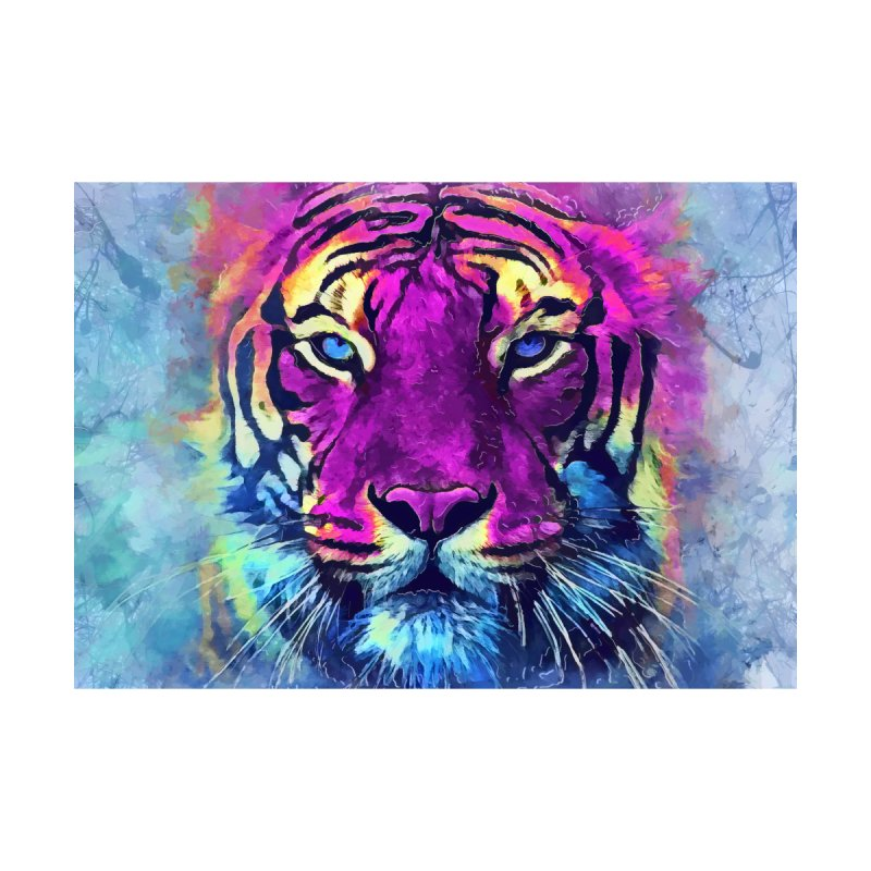 Tiger art Home Framed Fine Art Print by jbjart Artist Shop