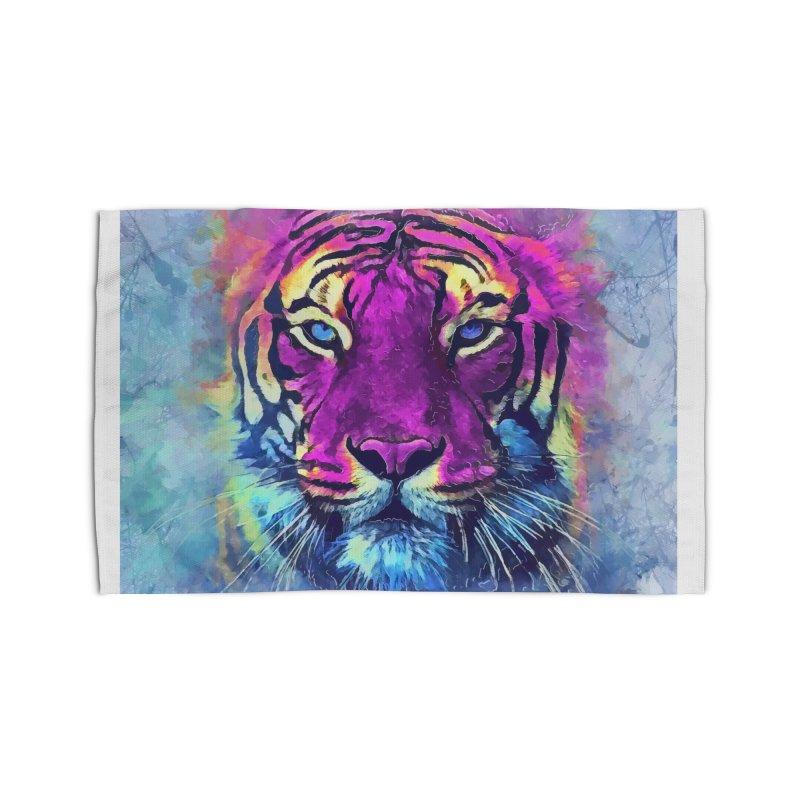 Tiger art Home Rug by jbjart Artist Shop