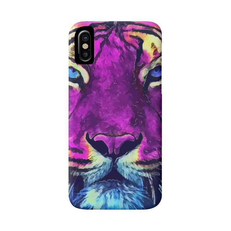Tiger art Accessories Phone Case by jbjart Artist Shop