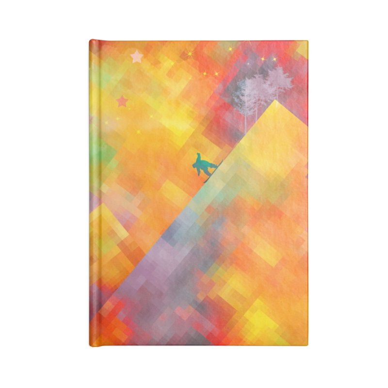 Snowboard Accessories Lined Journal Notebook by jbjart Artist Shop