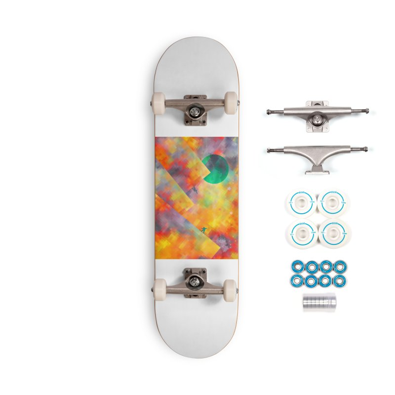 Snowboard Accessories Complete - Basic Skateboard by jbjart Artist Shop