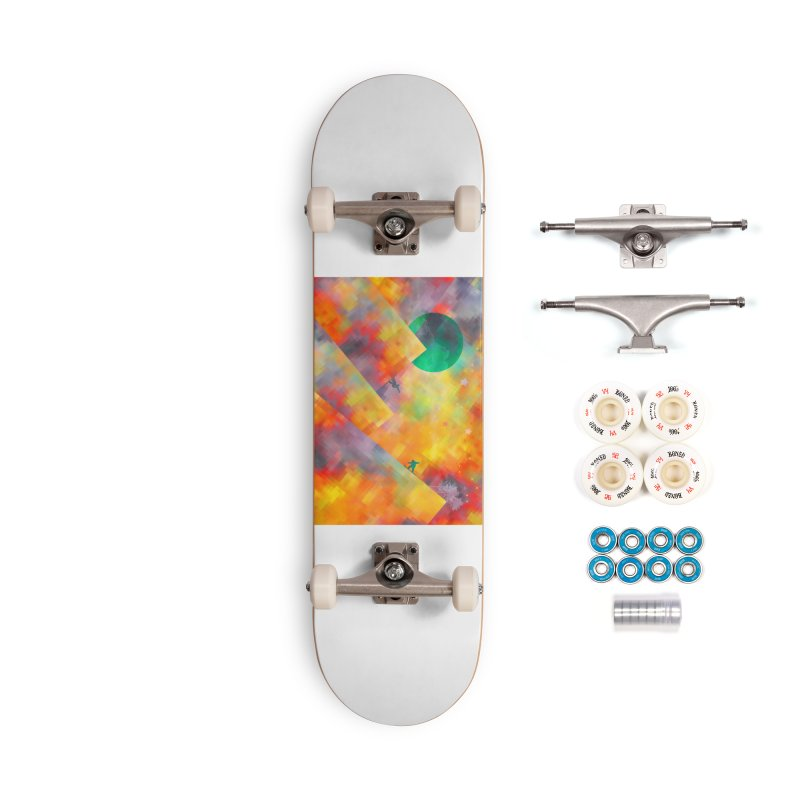 Snowboard Accessories Complete - Premium Skateboard by jbjart Artist Shop