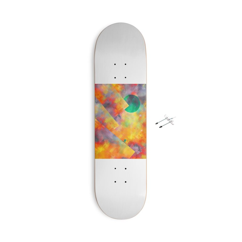 Snowboard Accessories Skateboard by jbjart Artist Shop