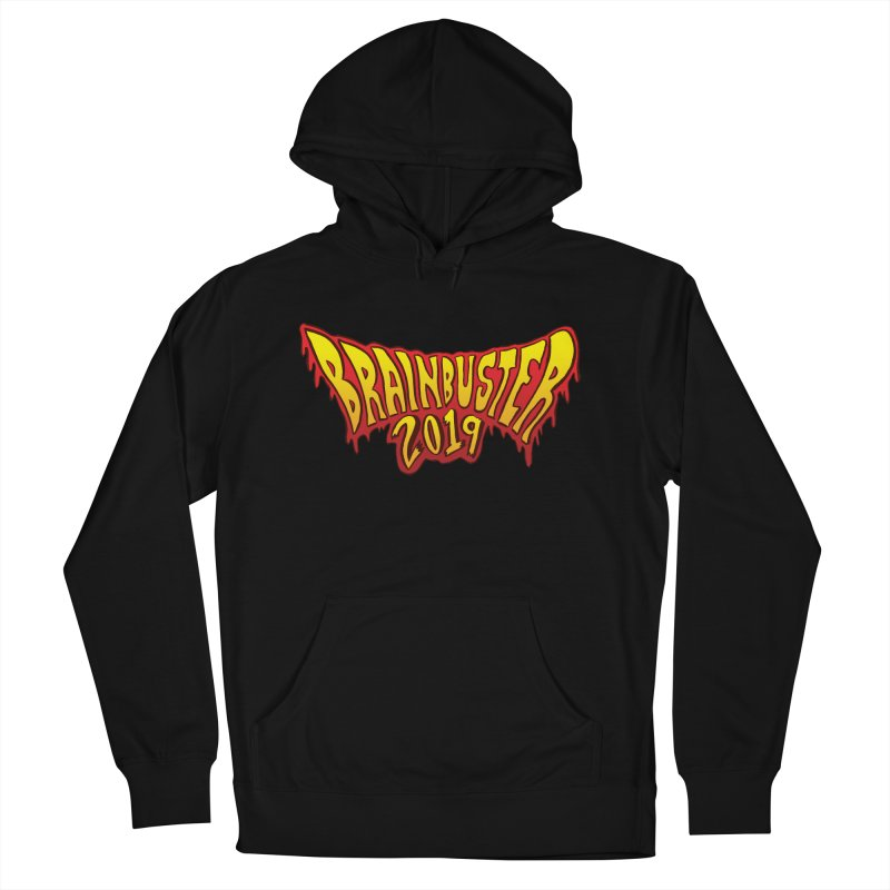 BRAINBUSTER 2019 Logo Men's French Terry Pullover Hoody by JB Roe Artist Shop