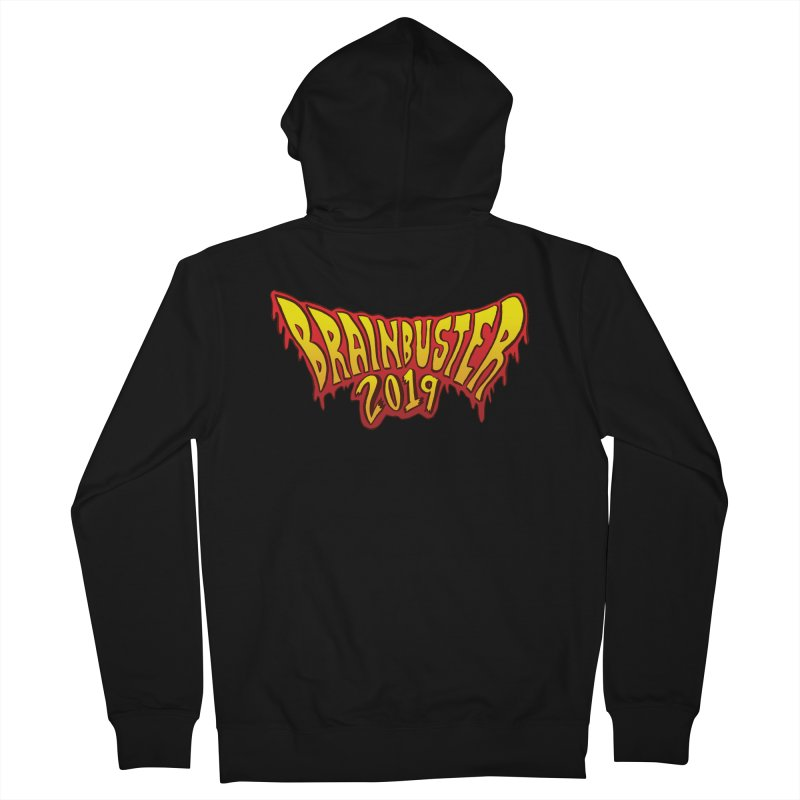 BRAINBUSTER 2019 Logo Women's French Terry Zip-Up Hoody by JB Roe Artist Shop