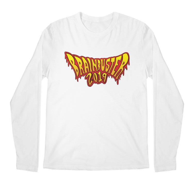BRAINBUSTER 2019 Logo Men's Regular Longsleeve T-Shirt by JB Roe Artist Shop