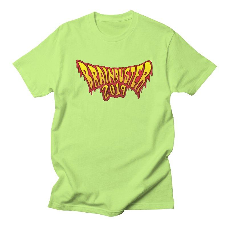 BRAINBUSTER 2019 Logo Men's Regular T-Shirt by JB Roe Artist Shop