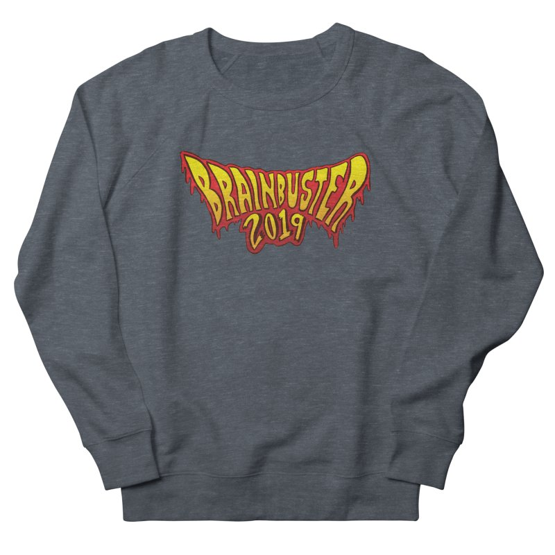 BRAINBUSTER 2019 Logo Men's French Terry Sweatshirt by JB Roe Artist Shop