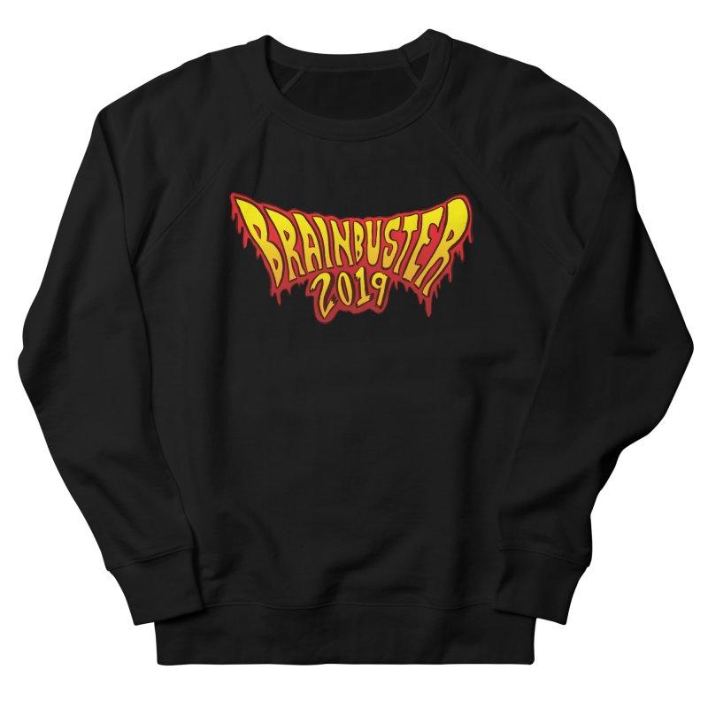 BRAINBUSTER 2019 Logo Men's French Terry Sweatshirt by JB Roe Artist Shop