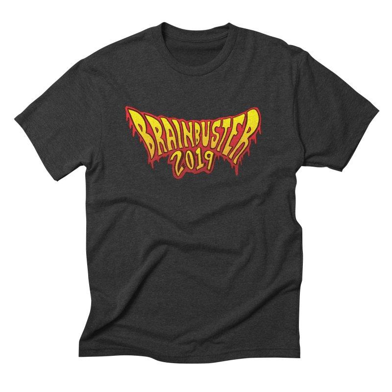 BRAINBUSTER 2019 Logo Men's Triblend T-Shirt by JB Roe Artist Shop