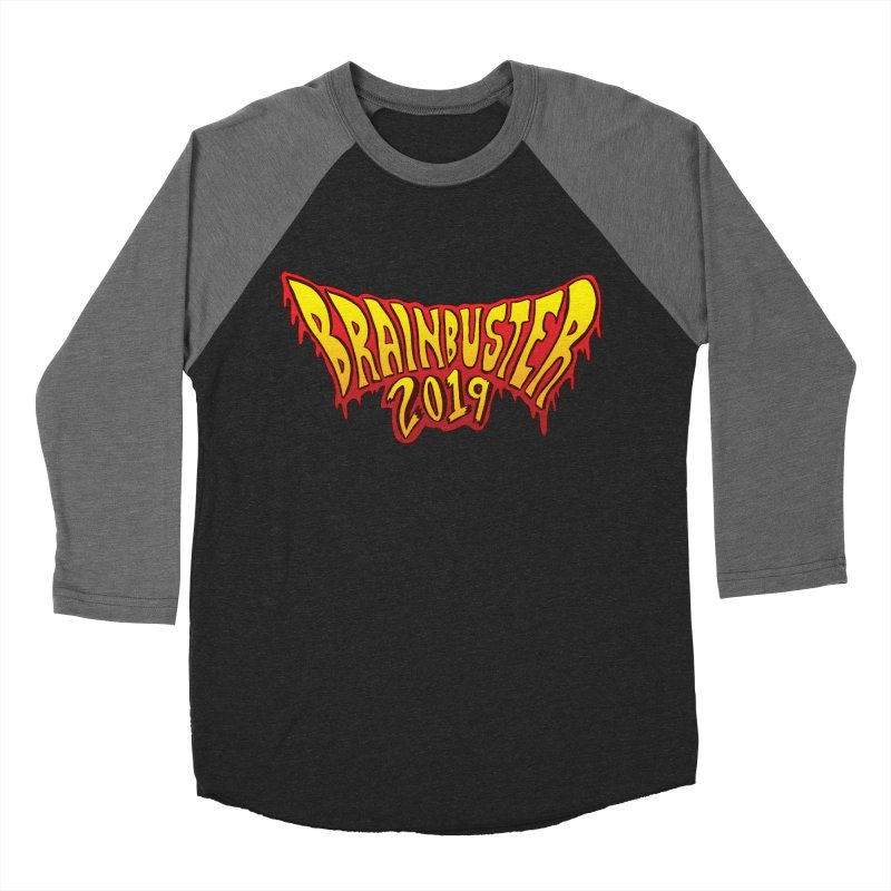 BRAINBUSTER 2019 Logo Women's Baseball Triblend Longsleeve T-Shirt by JB Roe Artist Shop
