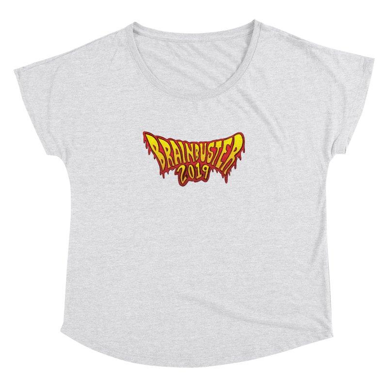 BRAINBUSTER 2019 Logo Women's Dolman Scoop Neck by JB Roe Artist Shop
