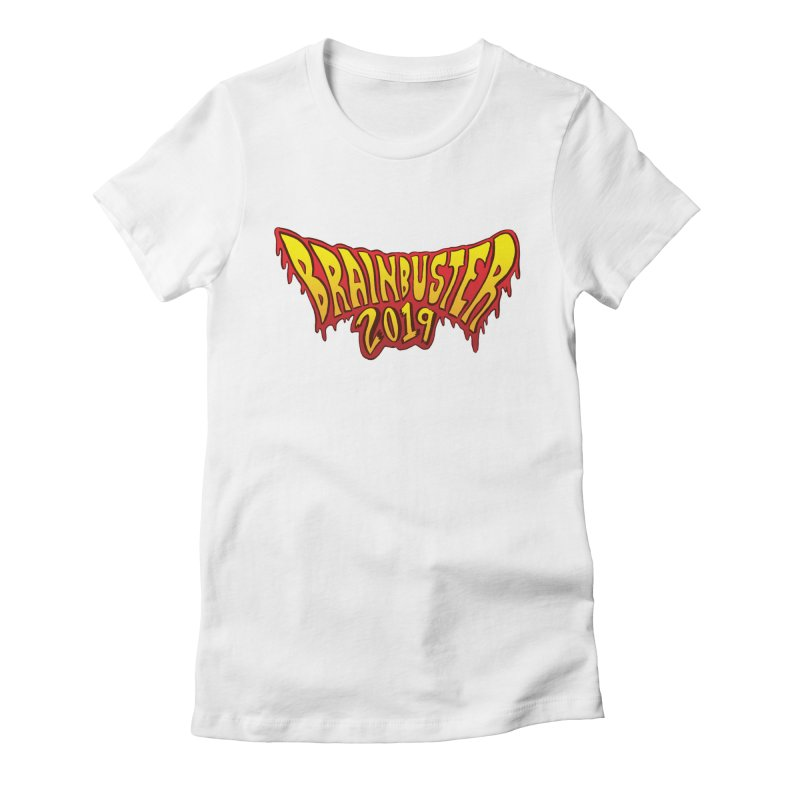 BRAINBUSTER 2019 Logo Women's Fitted T-Shirt by JB Roe Artist Shop