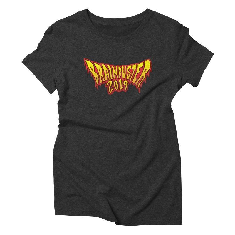 BRAINBUSTER 2019 Logo Women's Triblend T-Shirt by JB Roe Artist Shop