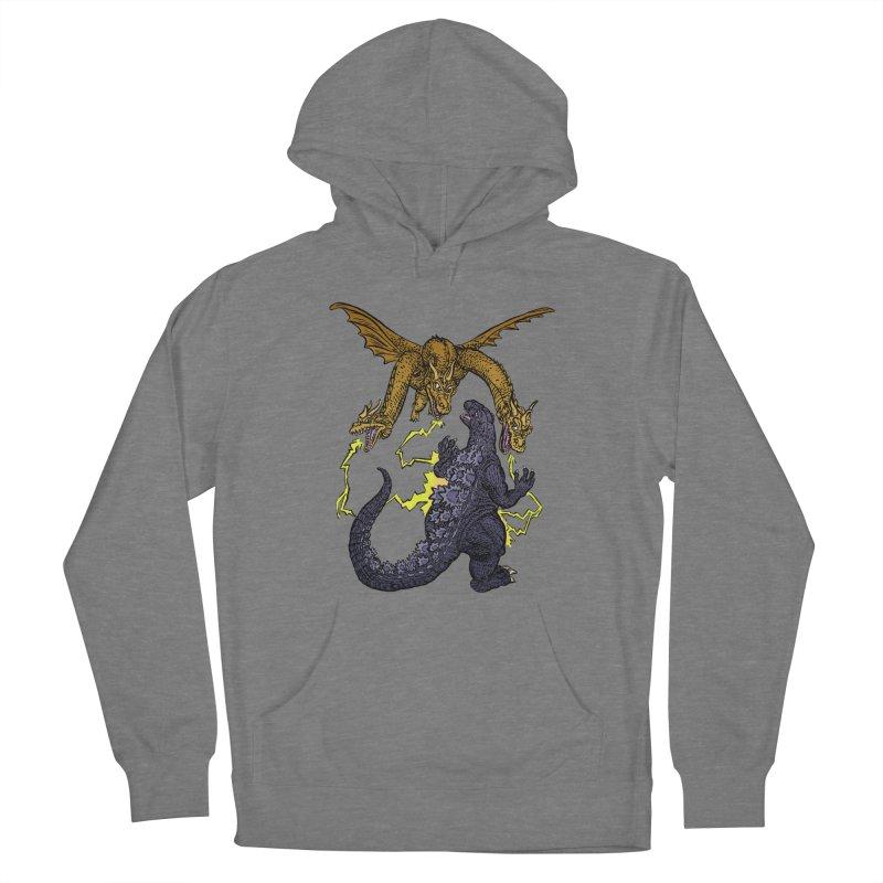 Kaiju Fight Women's Pullover Hoody by JB Roe Artist Shop