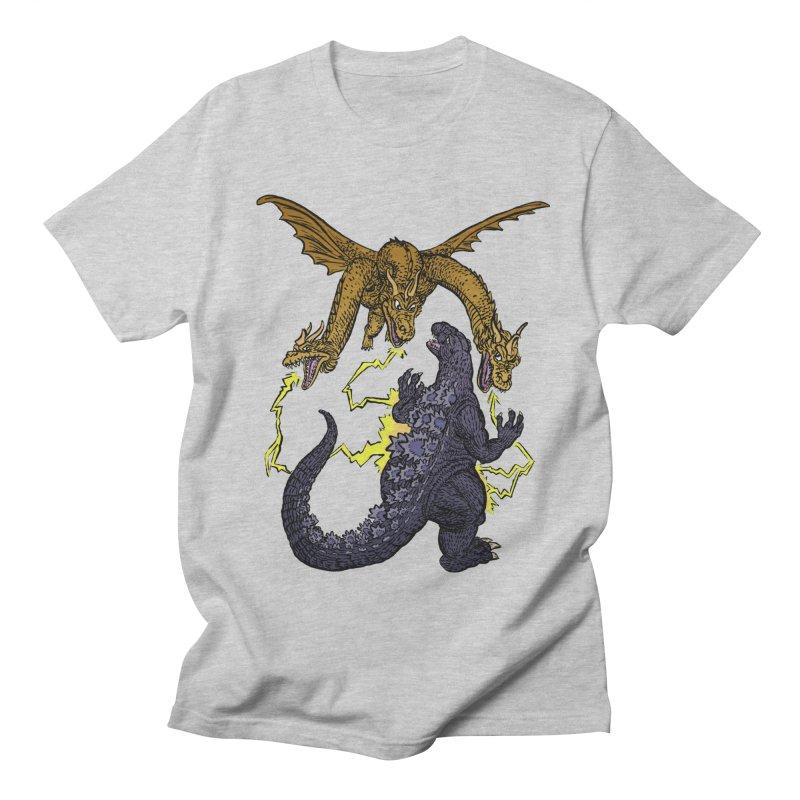 Kaiju Fight Women's Regular Unisex T-Shirt by JB Roe Artist Shop