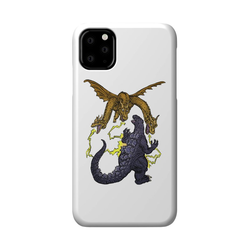 Kaiju Fight Accessories Phone Case by JB Roe Artist Shop