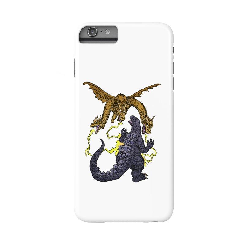 Kaiju Fight Accessories Phone Case by JB Roe Artist Shop