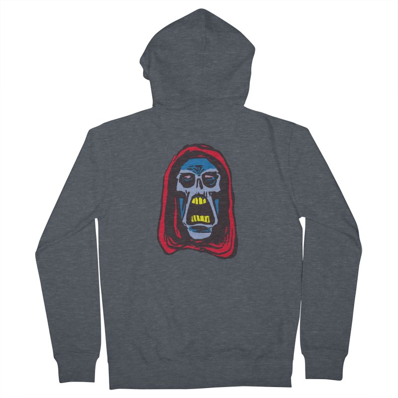 Ghoul Women's French Terry Zip-Up Hoody by JB Roe Artist Shop