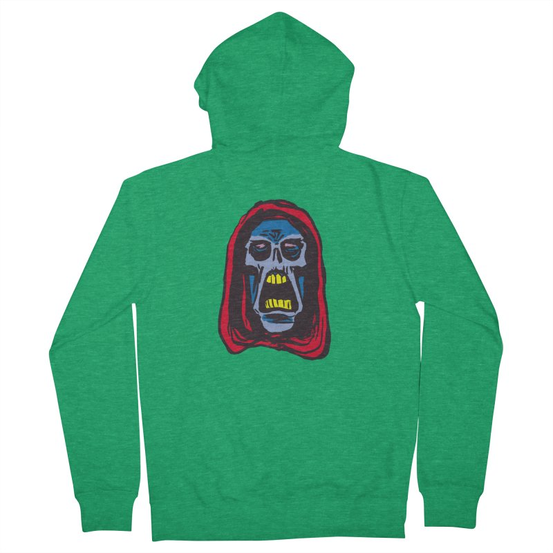 Ghoul Men's French Terry Zip-Up Hoody by JB Roe Artist Shop