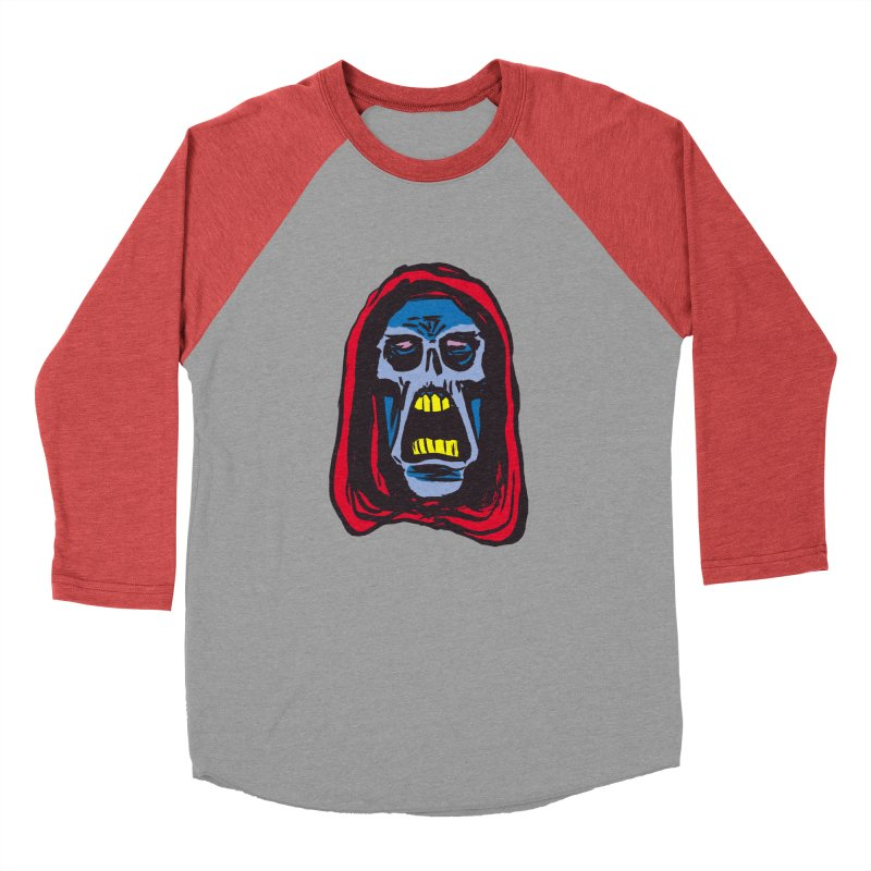 Ghoul Men's Baseball Triblend Longsleeve T-Shirt by JB Roe Artist Shop