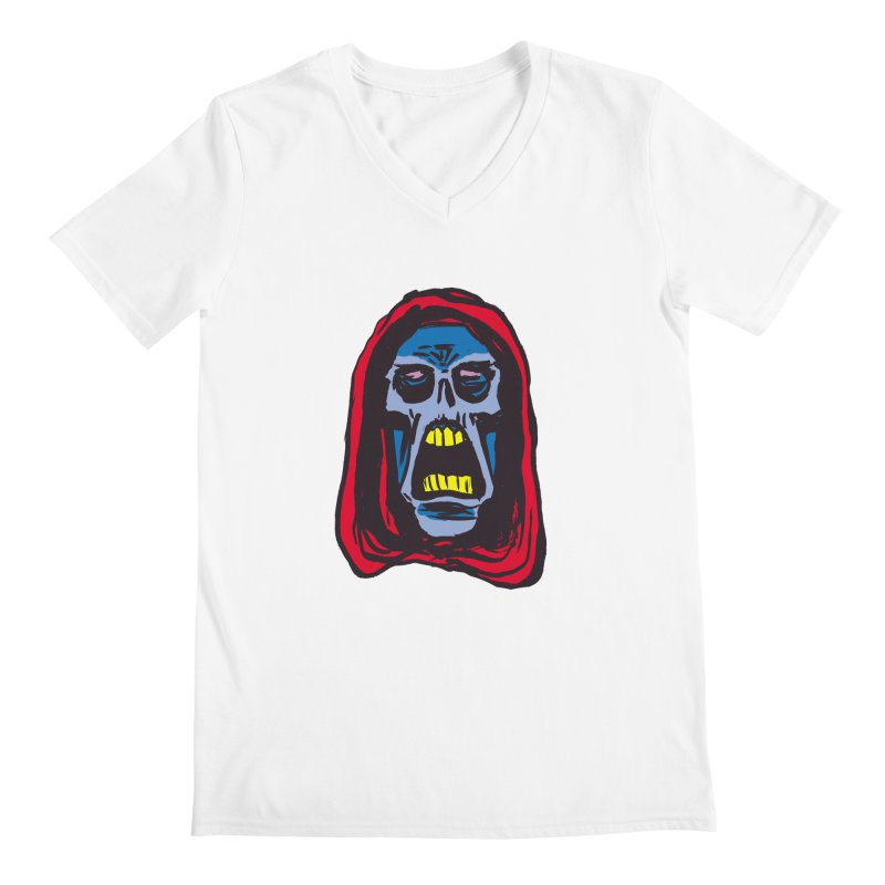 Ghoul Men's Regular V-Neck by JB Roe Artist Shop