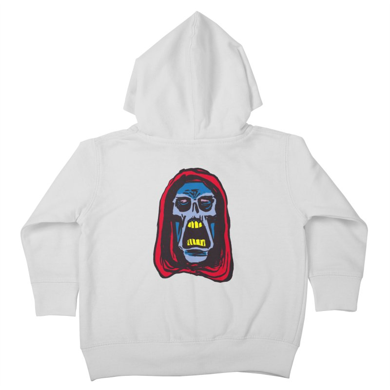 Ghoul Kids Toddler Zip-Up Hoody by JB Roe Artist Shop