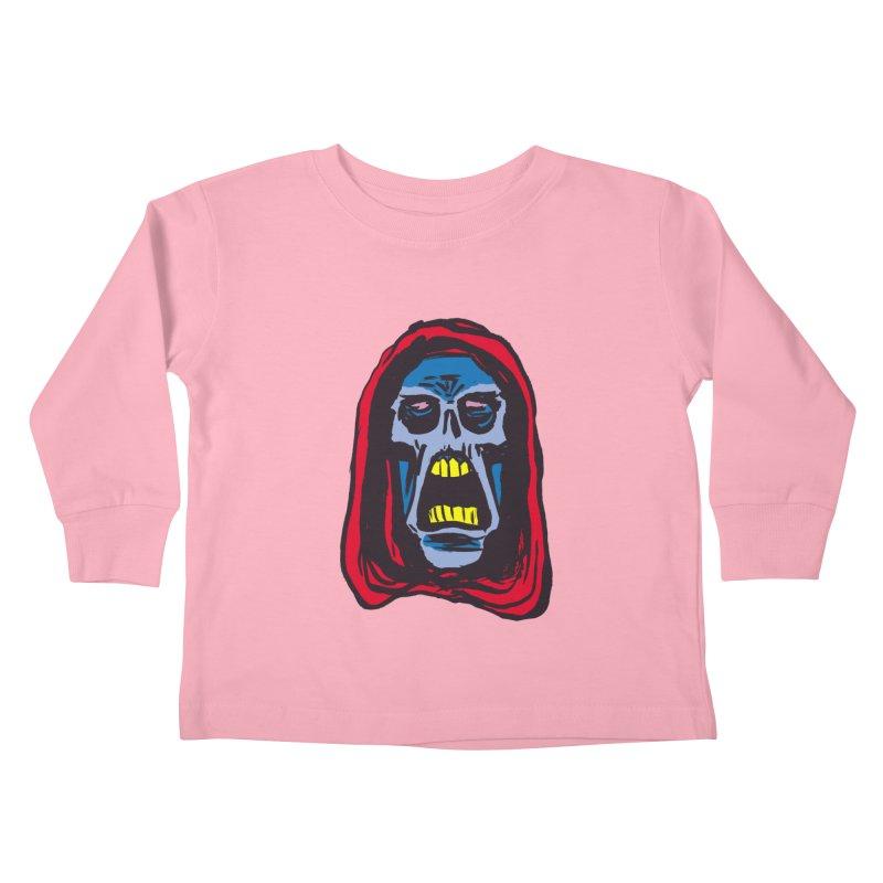Ghoul Kids Toddler Longsleeve T-Shirt by JB Roe Artist Shop