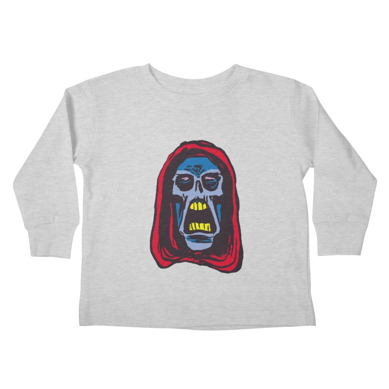 Ghoul Kids Toddler Longsleeve T-Shirt by JB Roe Artist Shop