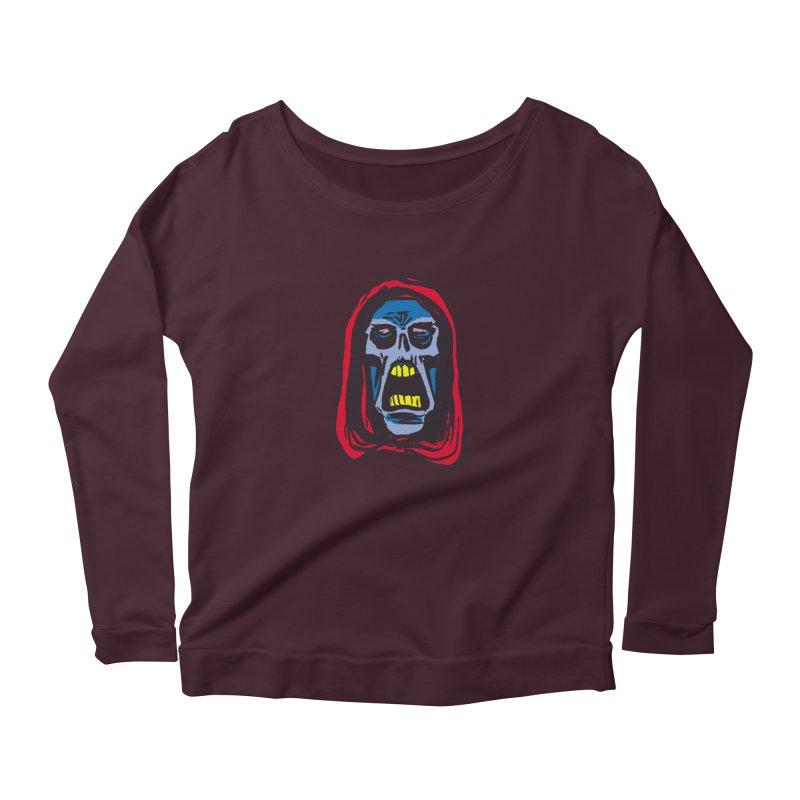 Ghoul Women's Scoop Neck Longsleeve T-Shirt by JB Roe Artist Shop