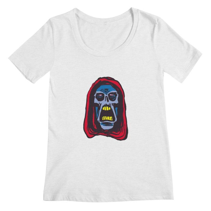Ghoul Women's Regular Scoop Neck by JB Roe Artist Shop