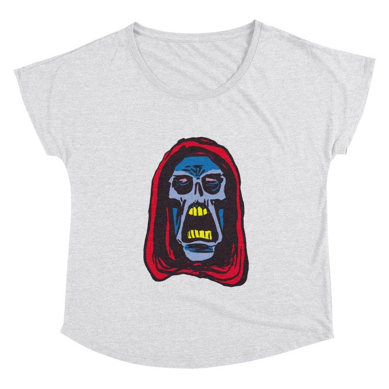 Ghoul Women's Dolman Scoop Neck by JB Roe Artist Shop