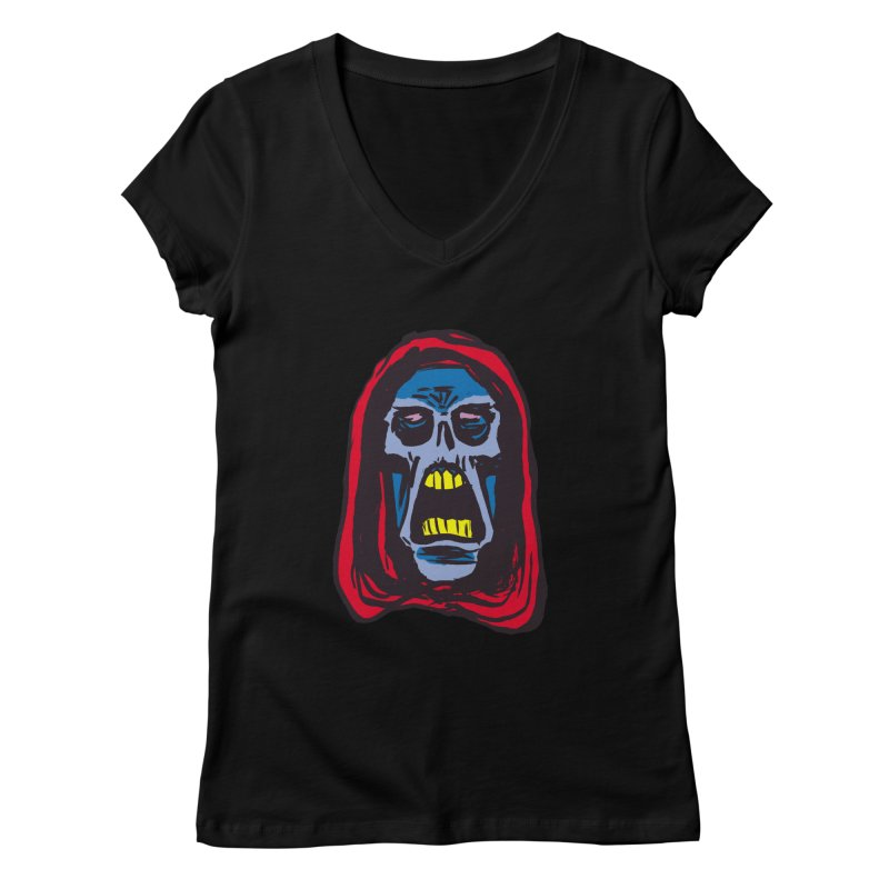 Ghoul Women's V-Neck by JB Roe Artist Shop
