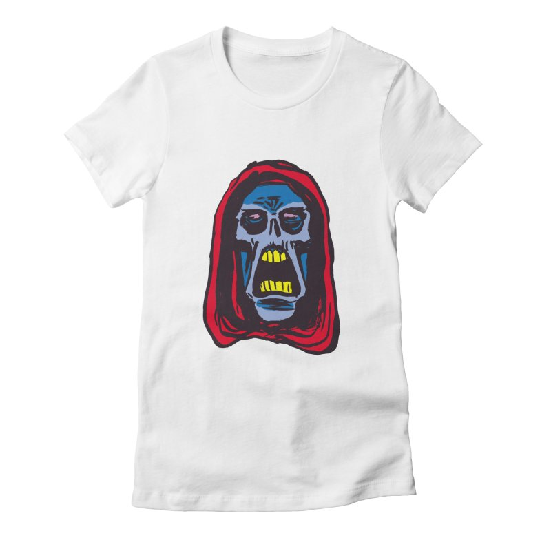 Ghoul Women's Fitted T-Shirt by JB Roe Artist Shop