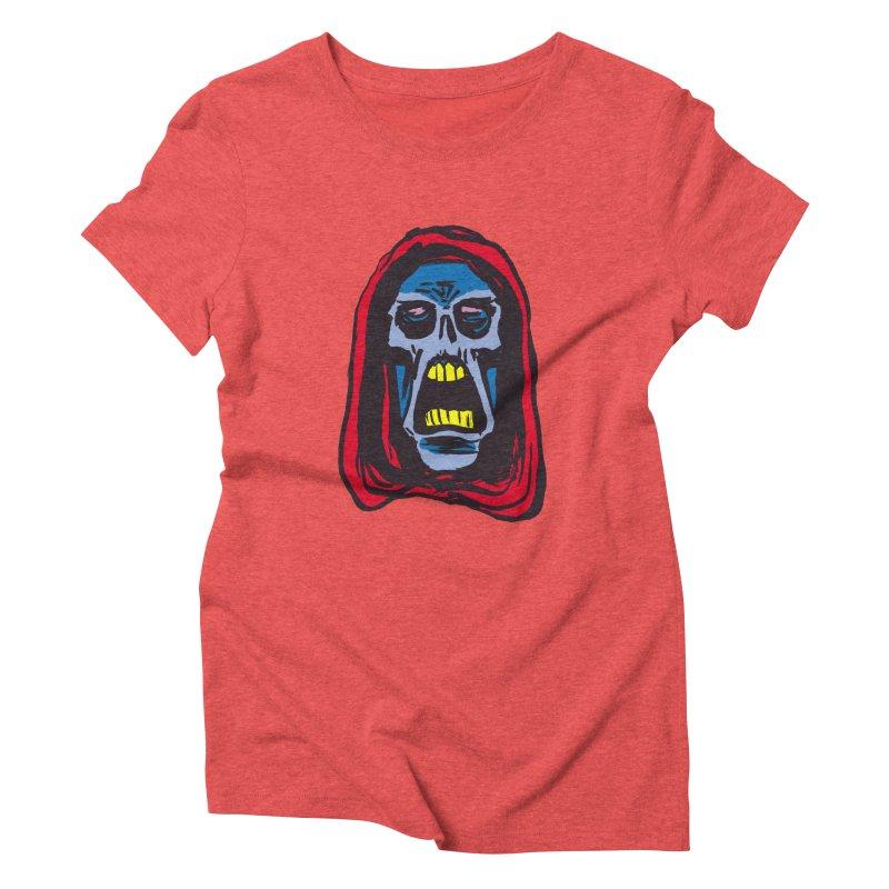 Ghoul Women's Triblend T-Shirt by JB Roe Artist Shop