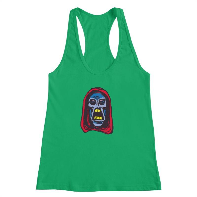 Ghoul Women's Racerback Tank by JB Roe Artist Shop