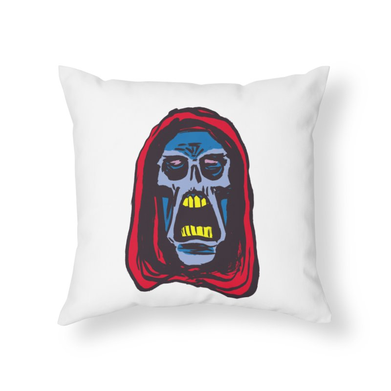 Ghoul Home Throw Pillow by JB Roe Artist Shop