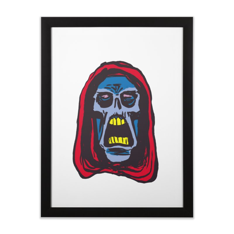 Ghoul Home Framed Fine Art Print by JB Roe Artist Shop
