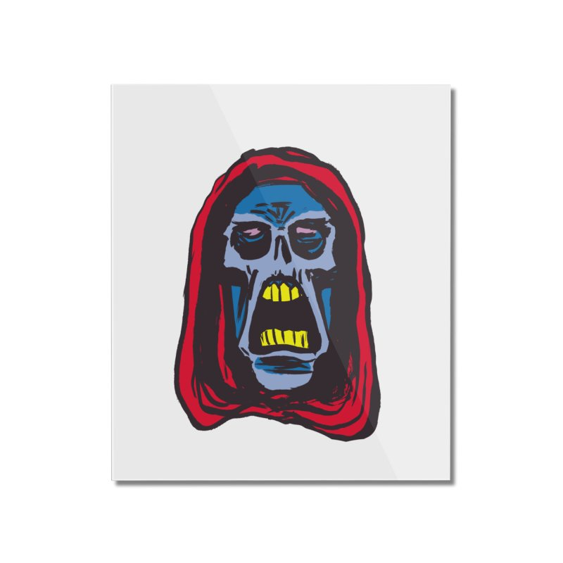Ghoul Home Mounted Acrylic Print by JB Roe Artist Shop