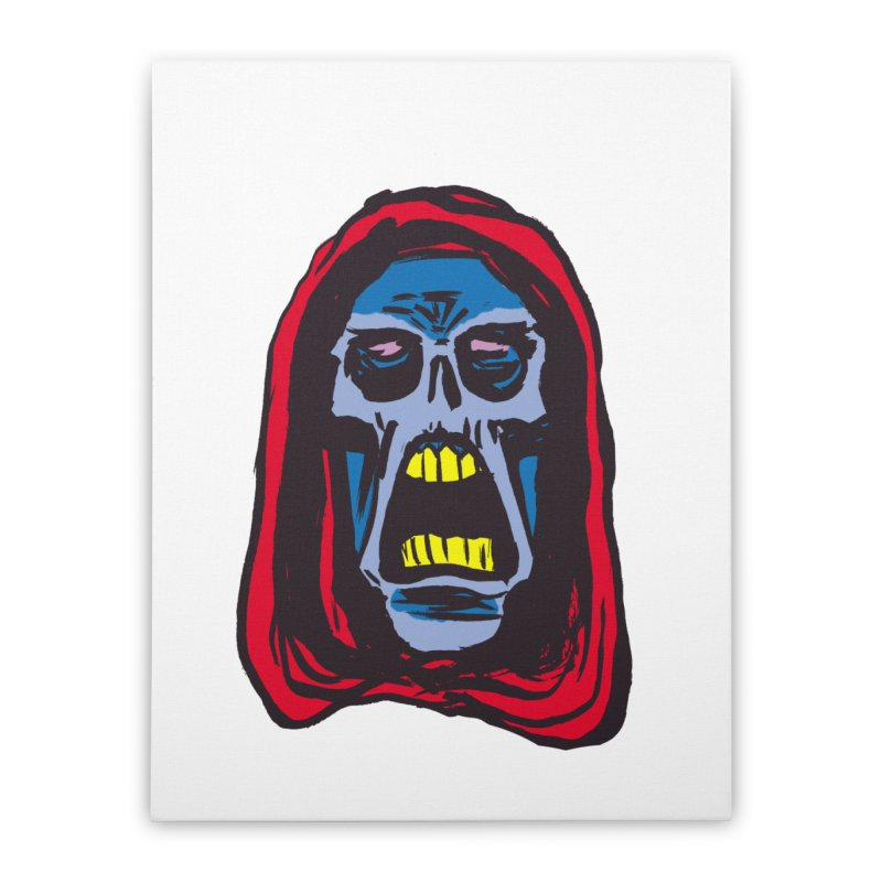 Ghoul Home Stretched Canvas by JB Roe Artist Shop